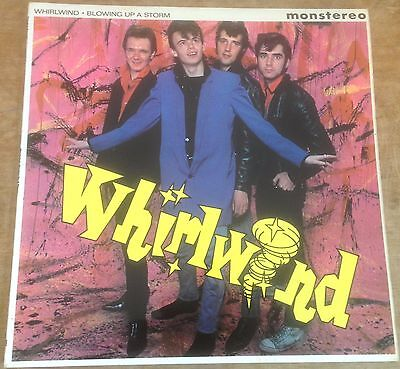 """WHIRLWIND blowing up a storm 1977 UK CHISWICK MONSTEREO 10"""" VINYL ROCKABILLY LP"""