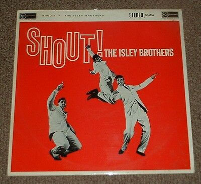 THE ISLEY BROTHERS shout! 1960 UK RCA STEREO LP