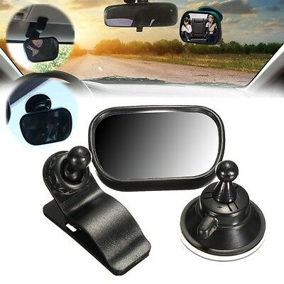 Universal Car Kid Baby Mirror Safety Easy View Back Seat Suction Care Rear Ward