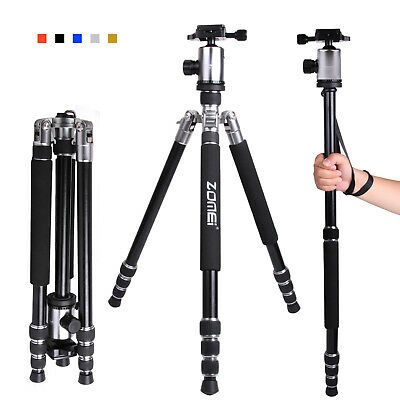 ZOMEI Z888 Pro Aluminum Travel Tripod Monopod&Ball Head Portable for DSLR Camera