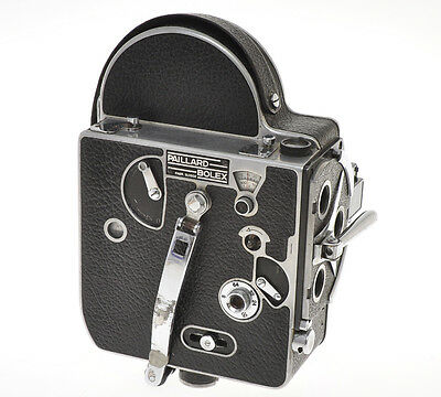 Bolex H-8 H8 H 8 De Luxe (?) without lenses, sold for parts or display