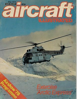 1978 52999 Aircraft Illustrated  Airshowe 78 Programme
