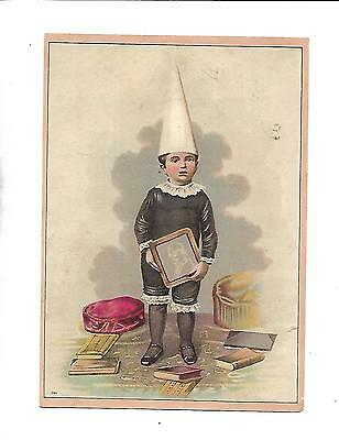Schnull Krag Coffee Company Victorian Trade Card Indianapolis Indiana