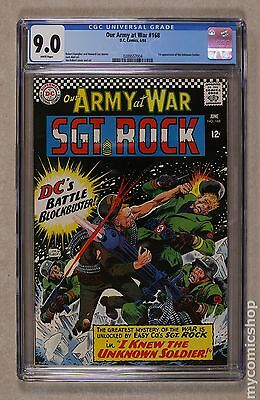 Our Army at War (1952) #168 CGC 9.0 0289557004
