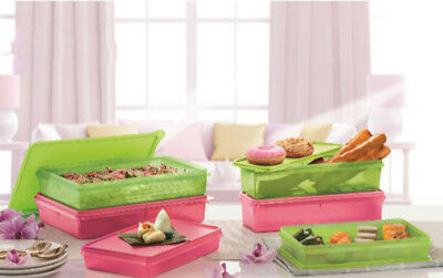 Tupperware Serve It All Container Cold Cut Keeper, Slice N Stor & Thin Stor