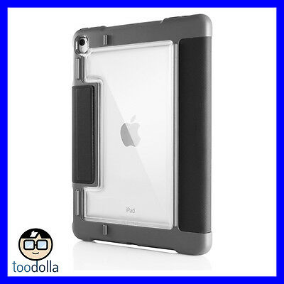 STM Dux Plus Rugged heavy duty folio protection case, iPad Pro 10.5/Air 3, Black