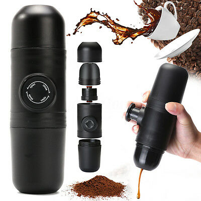 MINIPRESSO GR Portable Espresso Maker - Hand-pump Expresso Coffee Machine