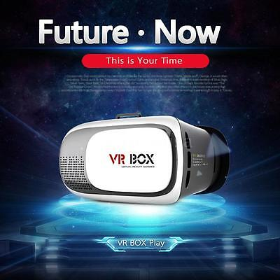 NEW 3D 2.0 VR Box Virtual Reality Glasses Cardboard Movie Game for Smart phones