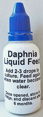 Highly Concentrated Liquid Daphnia Feed - Culture Your Own Live Fish Food