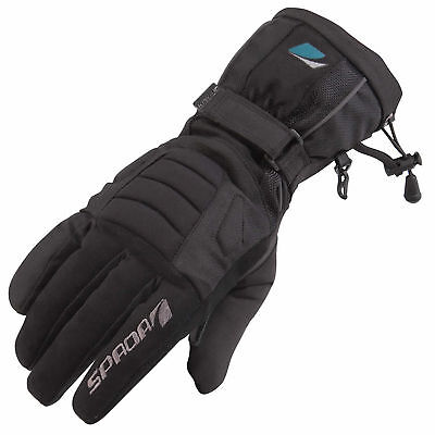 Spada Blizzard 2 Waterproof WP Motorcycle Winter Thermal Leather/Textile Gloves