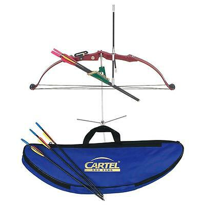 Cartel Mini Compound Bow Set101 Red
