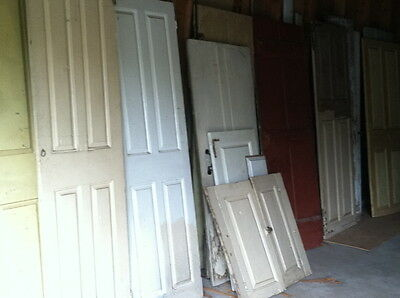 150  17th 18th and early 19th century doors Most with period iron hardware 1700s