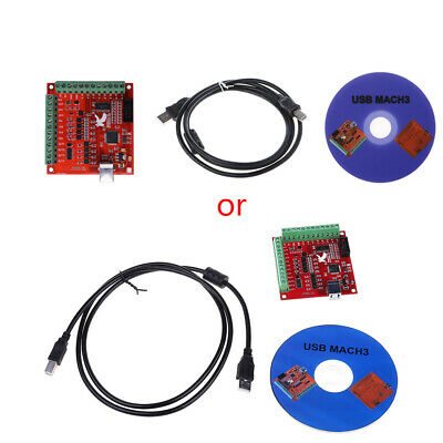 CNC USB MACH3 100Khz Breakout Board Interface Driver Motion Controller 4 Axis