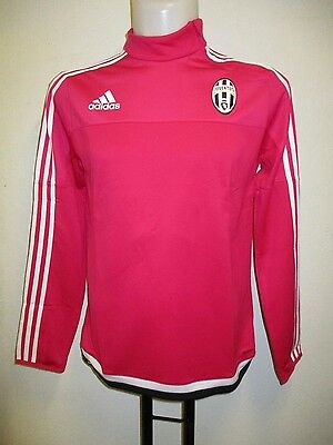 Juventus 2015/16 Pink Training Top  By Adidas Size Boys 7/8 Years  Brand New