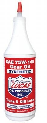 Lucas Oil Synthetic Gear & Transmission Oil 75w140  1 Quart   10121