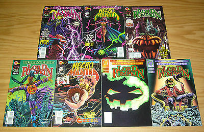 Lord Pumpkin/Necromantra #0 & 1-4 VF/NM complete series + (2) variants kyle hotz