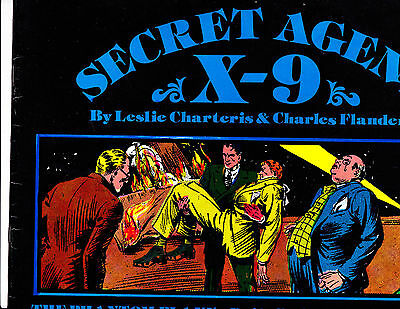 "Secret Agent X-9 No 8-1980-Strip Reprints Soft Cover-""Dailies 11-35 to 1-36! """