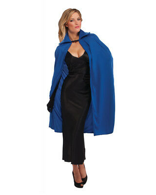 "Adult Blue 45"" Phantom Magician Costume Cape"