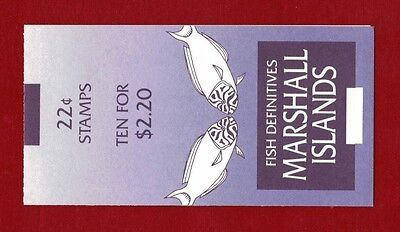 1988 Marshall Islands Fish SG 152 Booklet
