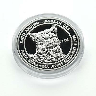 2011 1 oz Silver Andean Cat .99999 Silver by Royal Silver Company RSC #A350