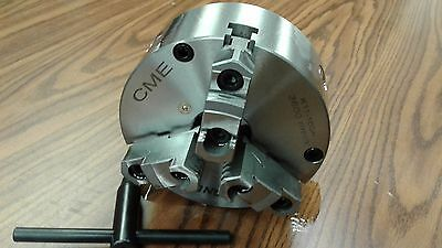 "6"" 3-JAW SELF-CENTERING LATHE CHUCK front mounting for rotary table #0603F0-FM"