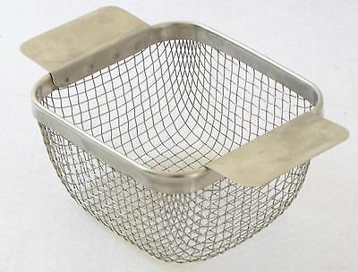 5-1/4 x 5 x 3-1/8 ULTRASONIC CLEANING BASKET CP9CST for Crest 175HT 1/2 gal tank