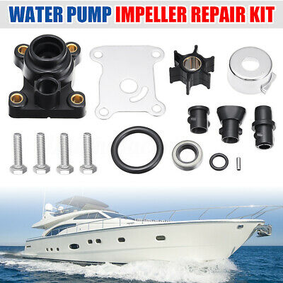 Full Water Pump Impeller Repair Kit 9.9 15Hp For Johnson Evinrude 394711 386084