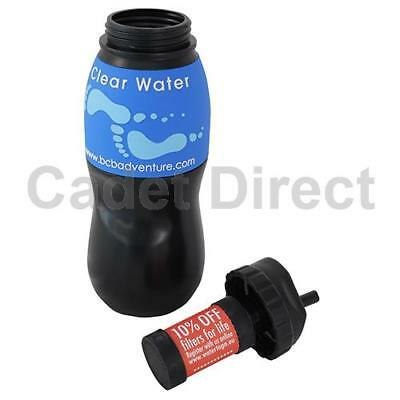 BCB Water-to-Go Filtration System, Black