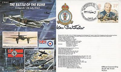 The Battle of the Ruhr .Personally Signed by Gp.Capt.K.Batchelor CBE DFC