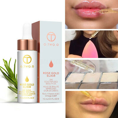 Face Lips Foundation Primer Rose Gold Base Oil-ControL Hydrating Moisturizing