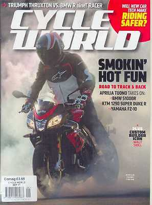CYCLE WORLD - September 2017 (NEW COPY)