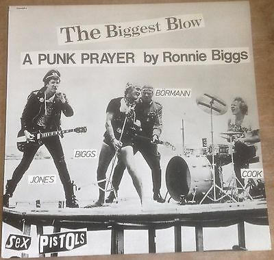 SEX PISTOLS*RONNIE BIGGS the biggest blow SID VICIOUS my way 1978 UK VIRGIN 12""