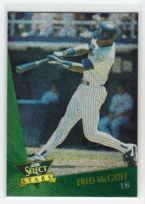 1993 Select Chase Stars #1 Fred McGriff