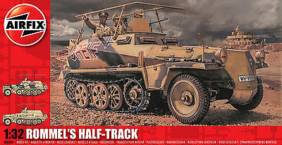 AIRFIX®  A06360 Rommel's Half Track in 1:32