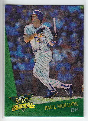 1993 Select Chase Stars #23 Paul Molitor