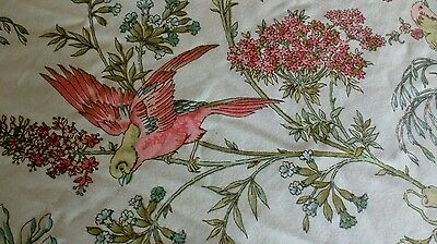 """Vintage Robert Swaffer """"Chevening""""  Fabric Single Fitted Bedspread"""
