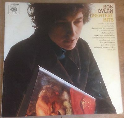 BOB DYLAN greatest hits 1967 UK CBS MONO VINYL LP
