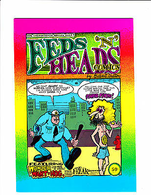 """Feds """"N' Heads   : 1968 :    : Cop & Hippy Cover! :    : 3rd Print? :"""