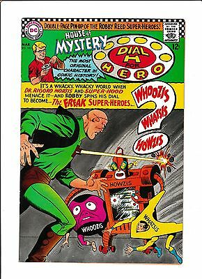 "House Of Mystery #165  [1967 Vf+]  ""the Freak Super-Heroes"""