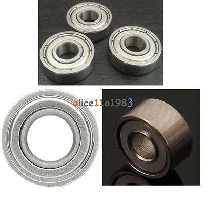 5/10PCS MR52/MR62/MR85ZZ 2x5x2.5 2x6x2.5/5*8*2mm Shielded Flanged Ball Bearings