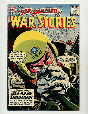 "Star Spangled War Stories #83  [1959 Fn-]  ""jet On My Shoulder!"""