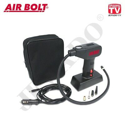 Air Bolt® Kompakter Luftkompressor mit LED Licht - Original aus TV-WERBUNG