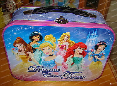 Dreams Come True, Tin Tote (Disney Princesses by Westland, 24324) Lunchbox