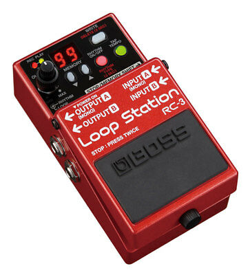 Boss RC-3 Loop Station Pedal (NEW)