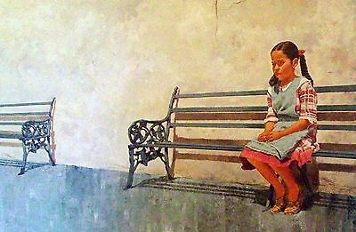 """Vic Herman """"the Many Faces Of Mexico"""" """"solitude But Not For Long"""" Ltd Ed Print"""