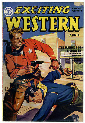 Exciting Western Magazine, Atlas Publishing April 1952