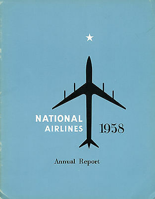 National Airlines 1958 Annual Report