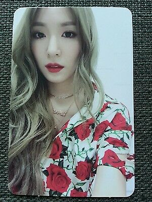 SNSD TIFFANY All NIGHT Ver Official PHOTOCARD 6th Album Holiday Night 티파니