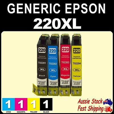4x 6x 12x 220XL 220 XL Generic Inks for EPSON WF2630 WF2660 XP220 XP420