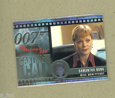 James Bond Die Another Day Casting Call #C 12 Samantha Bond as Moneypenny